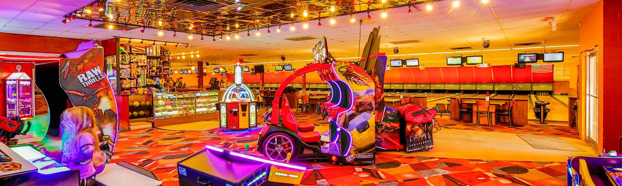 Rose Bowl Arcade